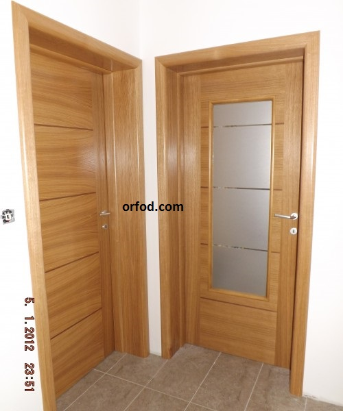 vrata sobna furnir hrast Orah