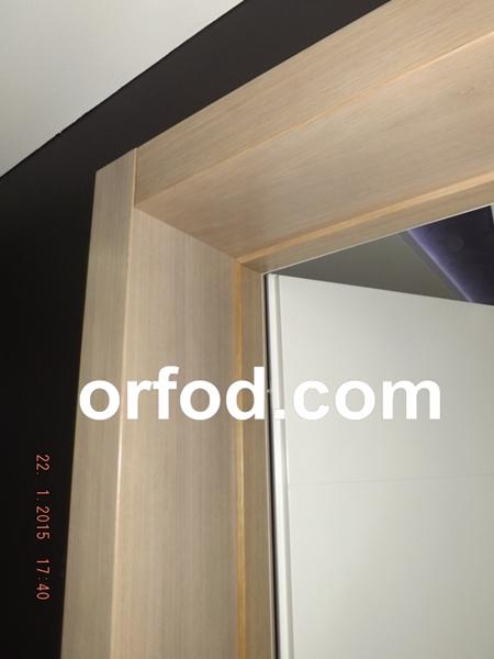 vrata sobna bijelo krilo štok furnir hrast